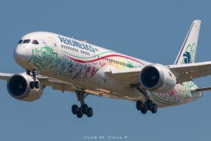 "Aeromexico B787-9 XA-ADL librea ""Quetzalcoatl"""